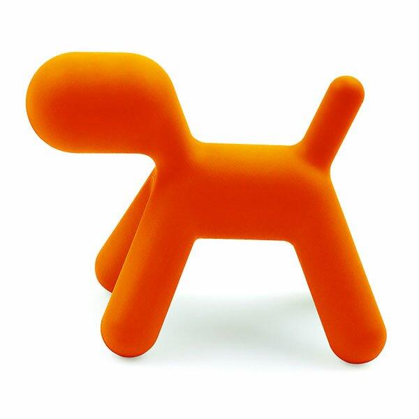 Dětská stolička Magis Puppy - velikost S oranžová