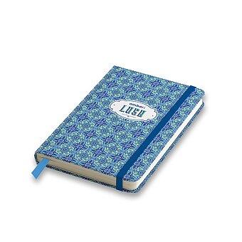 Obrázek produktu Záznamní kniha Ambar Lusa Patchwork - A6, linkovaná, 80 listů, mix motivů