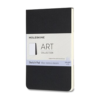 Obrázek produktu Skicář Moleskine SketchPad - S, černý