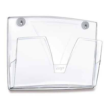 Obrázek produktu Cep ReCeption Magnetic - prospektový odkladač - transparentní