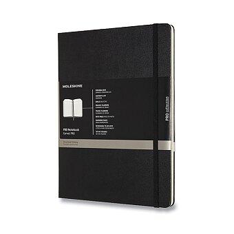 Obrázek produktu Zápisník Moleskine Professional - tvrdé desky - XL, černý, číslované strany