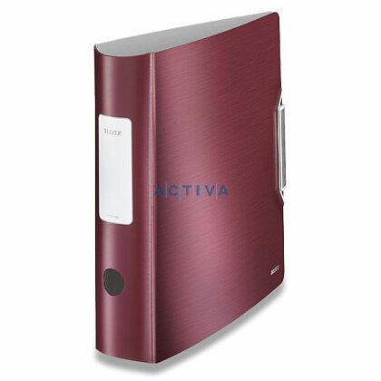 Obrázek produktu Leitz 180° Active Style - pákový pořadač - 75 mm, granátově červený