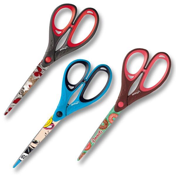 Nůžky Maped Tatoo Deco 21 cm, mix motivů