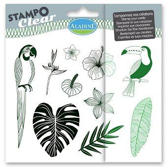 Obrázek produktu Razítka gelová Stampo Clear - Džungle