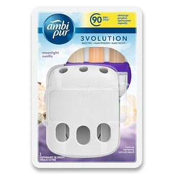 Obrázek produktu Elektrický osvěžovač vzduchu Ambi Pur 3Volution - strojek včetně náplní moonlight vanilla
