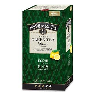 Obrázek produktu Zelený čaj Sir Winston Tea Lemon - 20 sáčků