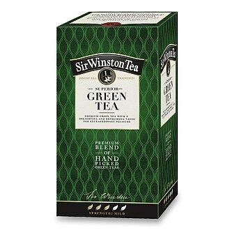 Obrázek produktu Zelený čaj Sir Winston Tea - 20 sáčků
