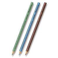 Pastelka Faber-Castell Grip 2001 - metalické odstíny