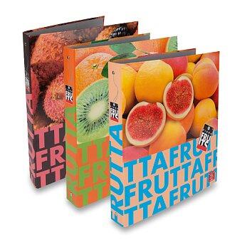 Obrázek produktu 4-kroužkový pořadač Pigna Fruits - lamino, A4, 35 mm, mix motivů