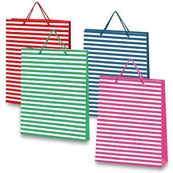 Obrázek produktu Dárková taška Stripes - 320 x 100 x 410 mm