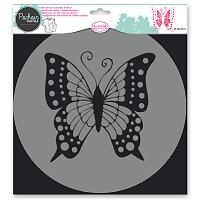 Plastová šablona AladinE - Motýl
