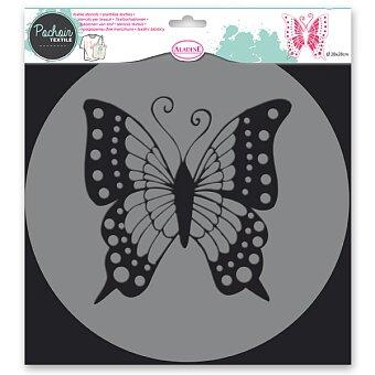 Obrázek produktu Plastová šablona AladinE - Motýl - 28 x 28 cm