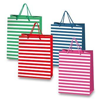 Obrázek produktu Dárková taška Stripes - 220 x 100 x 260 mm