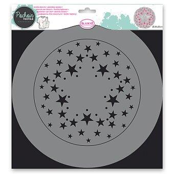 Obrázek produktu Plastová šablona AladinE - Hvězdy - 28 x 28 cm