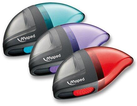 Obrázek produktu Ořezávátko Maped Moondo s pryží - s odpadní nádobou - 1 otvor, mix barev