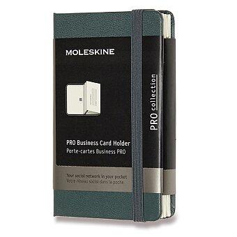 Obrázek produktu Vizitkář Moleskine - XS, tmavě zelený