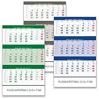 Tříměsíční nástěnný kalendář