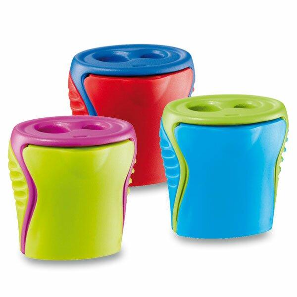 Ořezávátko Maped Boogy - s odpadní nádobkou 2 otvory, mix barev