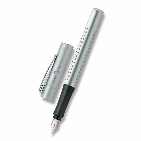Plnicí pero Faber-Castell Grip 2011 stříbrné
