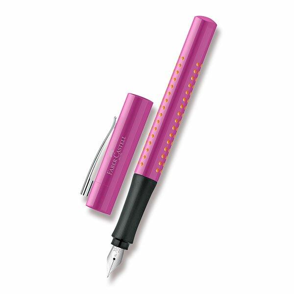 Plnicí pero Faber-Castell Grip 2010 růžové