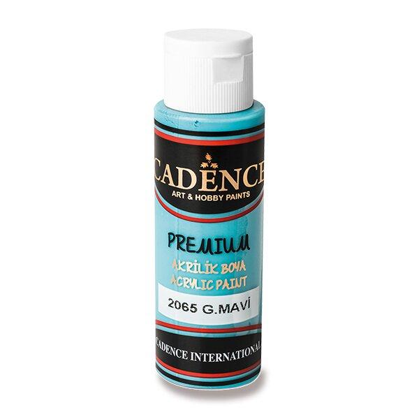 Akrylové barvy Cadence Premium azurová