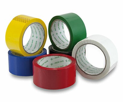 Obrázek produktu Barevná samolepicí páska Reas Pack - 48 mm x 66 m, výběr barev