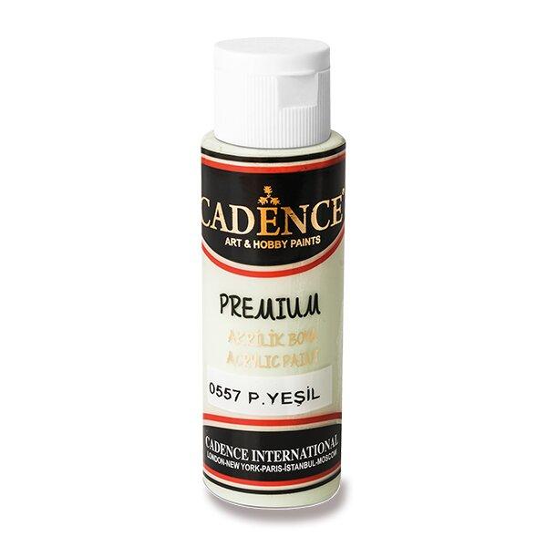 Akrylové barvy Cadence Premium pastelová zelená