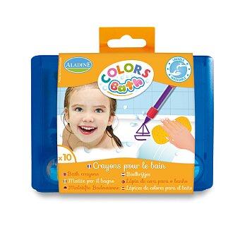 Obrázek produktu Voskové pastelky AladinE do vany - 10 barev