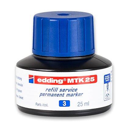 Obrázek produktu Edding MTK 25 - náhradní inkoust - modrý