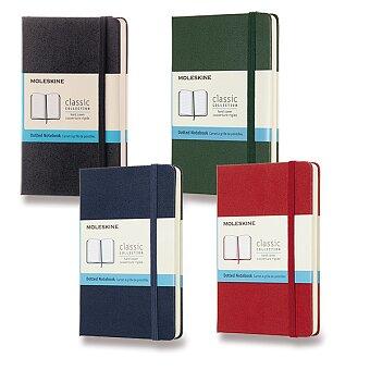 Obrázek produktu Zápisník Moleskine - tvrdé desky - S, tečkovaný, výběr barev