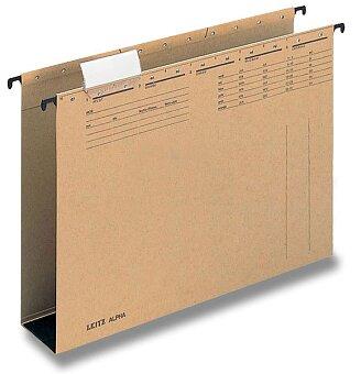 Obrázek produktu Závěsné zakládací desky Leitz Alpha - se širokým dnem, 40 mm