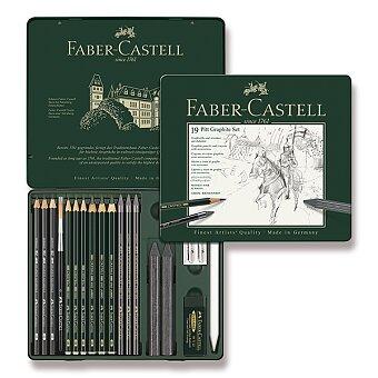 Obrázek produktu Grafitová tužka Faber-Castell Pitt Graphite - sada 19 kusů