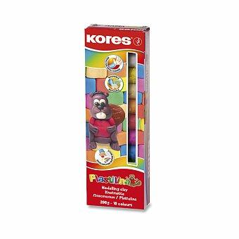 Obrázek produktu Modelína Kores - 10 barev, v krabičce 200 g