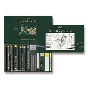 Grafitové tužky Faber-Castell Pitt Monochrome Graphite
