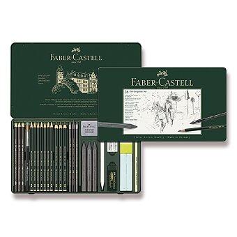 Obrázek produktu Grafitové tužky Faber-Castell Pitt Monochrome Graphite - sada 26 ks