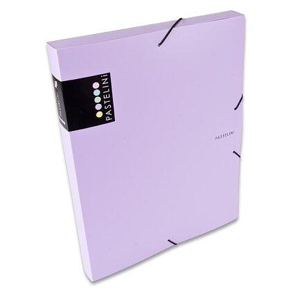 Obrázek produktu PP Pastelini - box na dokumenty - A4, fialový