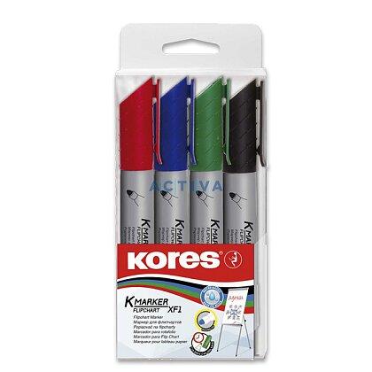 Obrázek produktu Kores K-Marker - popisovač - sada 4 ks