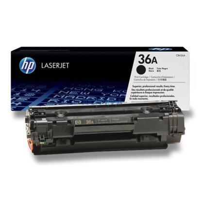 Obrázek produktu HP - toner CB436A, black (černý) č. 36A pro laserové tiskárny