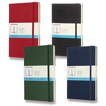 Obrázek produktu Zápisník Moleskine - tvrdé desky - L, tečkovaný, výběr barev