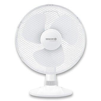 Obrázek produktu Stolní ventilátor Sencor SFE 3027WH - průměr 30 cm