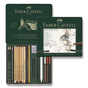 Obrázek produktu Sada Faber-Castell Pitt Monochrome - 21 kusů