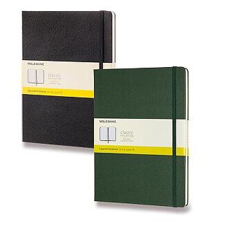 Obrázek produktu Zápisník Moleskine - tvrdé desky - XL, čtverečkovaný, výběr barev