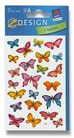 Samolepky Avery - Motýli