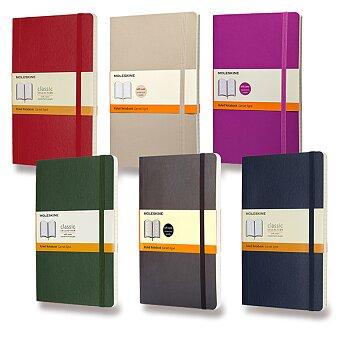 Obrázek produktu Zápisník Moleskine - měkké desky - L, linkovaný, výběr barev