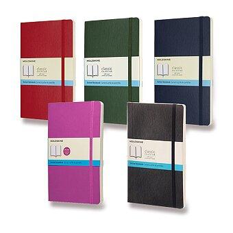 Obrázek produktu Zápisník Moleskine - měkké desky - L, tečkovaný, výběr barev