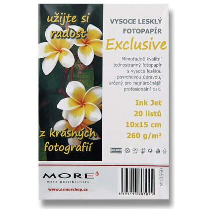Product image More Exclusive - premium quality photo paper