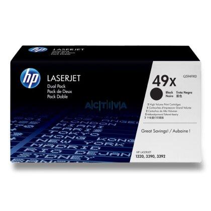 Obrázek produktu HP - toner Q5949XD, dual pack pro laserové černobílé tiskárny