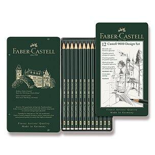 Grafitové tužky Faber-Castell 9000 Design