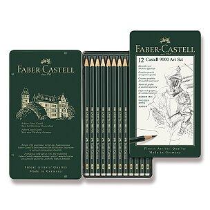 Grafitové tužky Faber-Castell 9000 Art