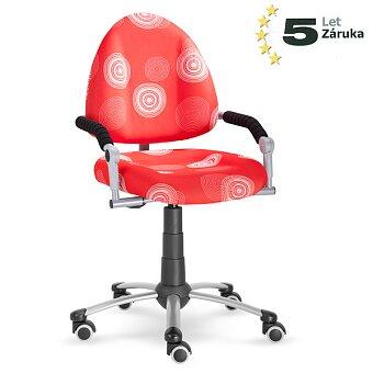 Obrázek produktu Rostoucí dětská židle Mayer Freaky - červená se vzorem